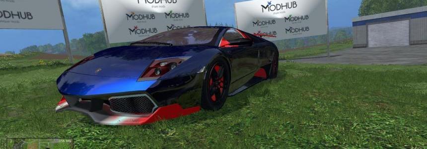 Lamborghini Murcielago Blue v1