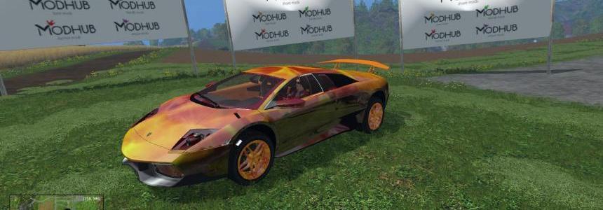 Lamborghini Murcielago Flame v1