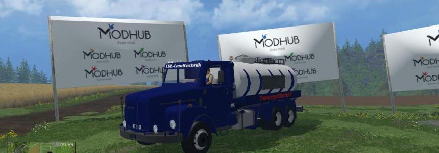TSL Scania 111 Diesel Service truck v1