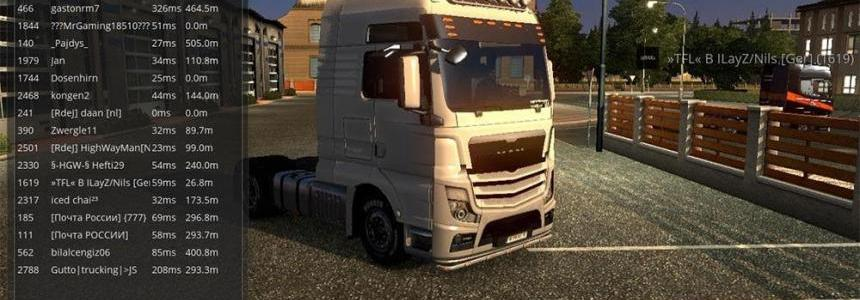 Hybrid Man truck for Multiplayer