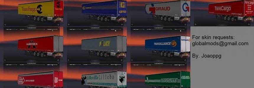 International Trailers Skin Pack 3