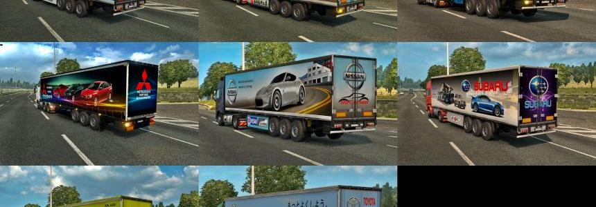 Japan car company trailer pack v1.0