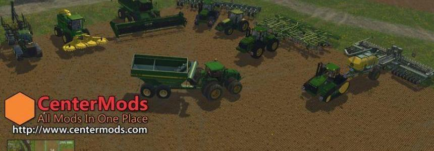 JOHN DEERE MEGA PACK FOR FS 2015 v1.0