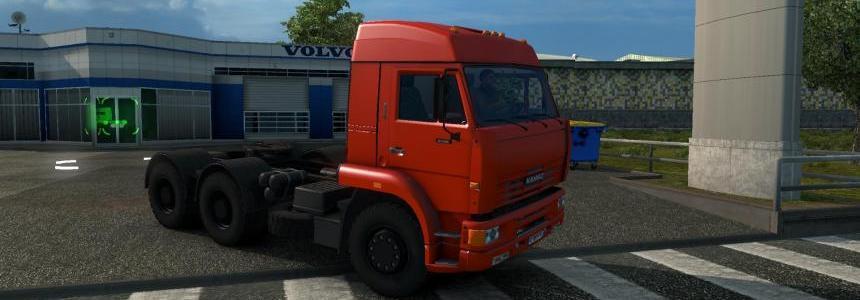 Kamaz 6460 v4.0