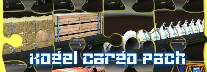 Kogel Trailer + 15 cargo Pack v1 1.20