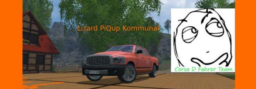 Lizard PiQup 2.5 TD Kommunal v1.0