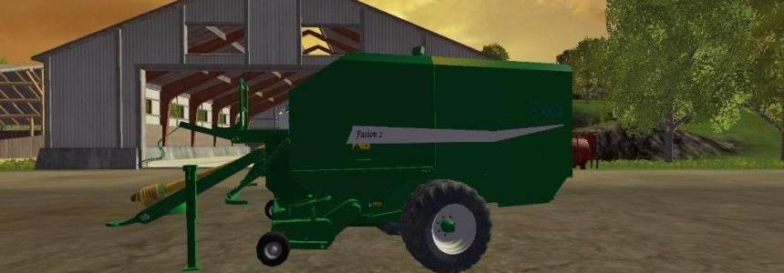 McHale Fusin 2 Baler and Wrapper v1.0
