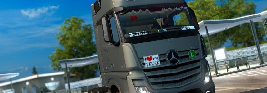 Mercedes Actros MP4 v1.4