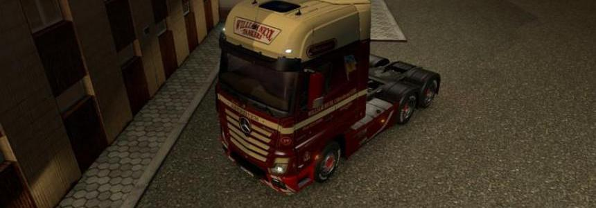 Mercedes Actros varnishing v1.19