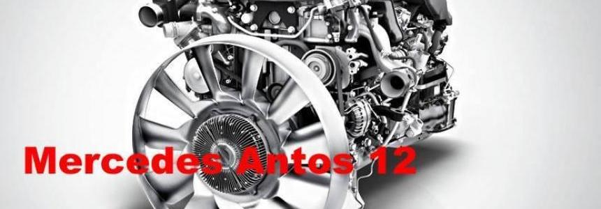 Mercedes Antos 12 1000 hp + 6 gears