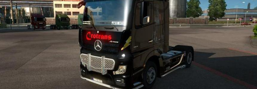 Mercedes Benz Actros MP4 v1.3