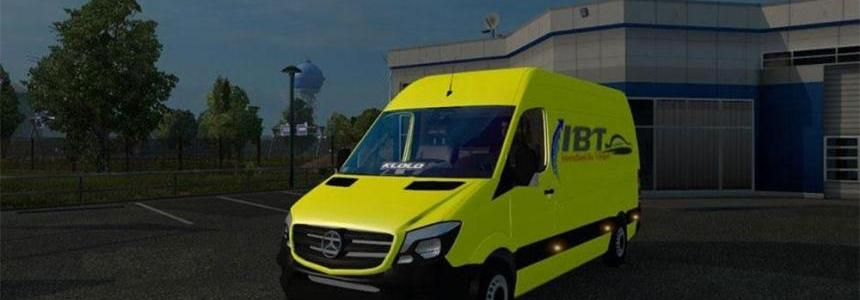 Mercedes Sprinter 2015 by Klolo901