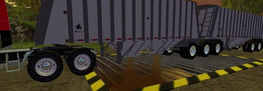 Merrit Super B Grain Trailers v1.0