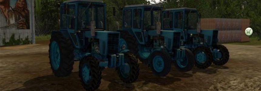 MTZ Tractors PACK v1.0