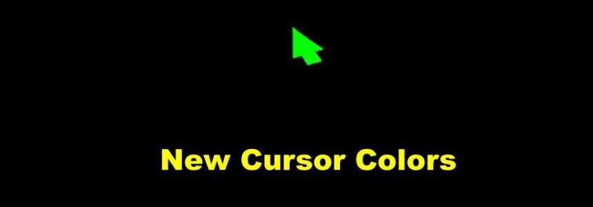 New Cursor Color