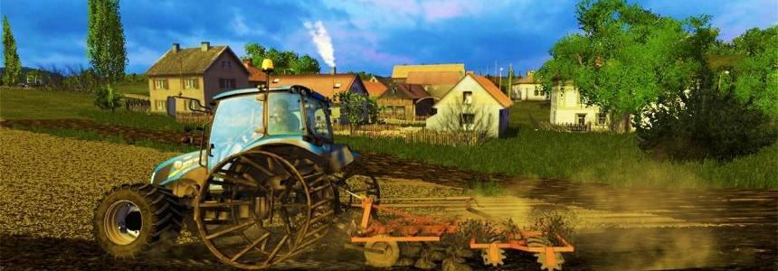 New Holland T4.75 with Iron Wheel v2