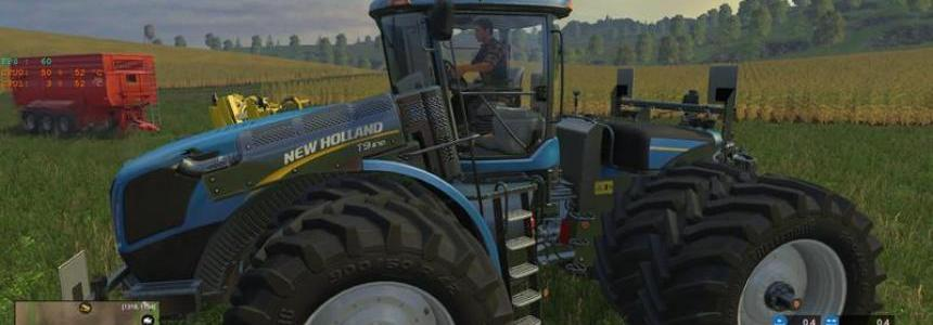 New Holland T9670 DuelWheel v1.0
