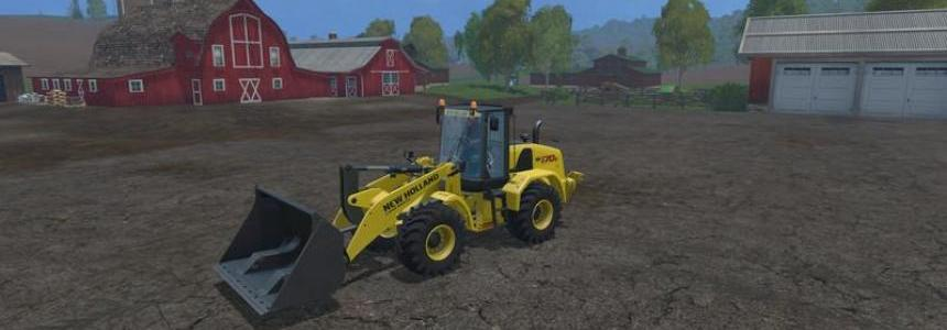 New Holland Wheelloadershovel v1.0