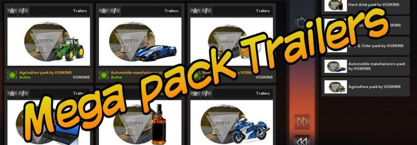 New Pack Available. Mega pack Trailers