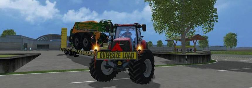 Oversize Load WARNING v1.0
