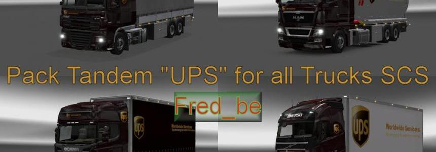 Pack Tandem UPS for all Trucks SCS 1.20.x