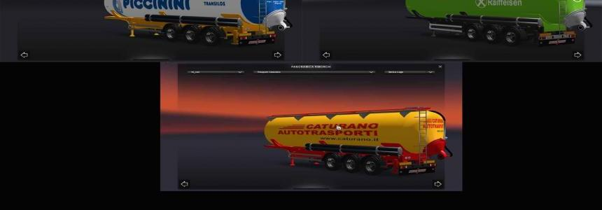 Pack trailer silos Real skin v2