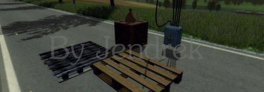 Pallets, Boxes, High Voltage Box, Bag v1.0