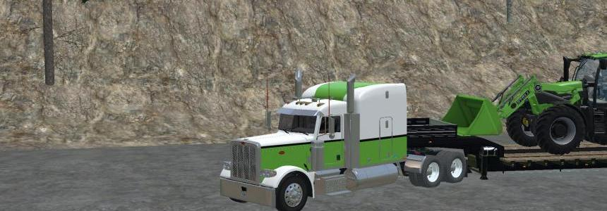 Peterbilt 388 Deutz Green v1