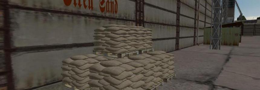 Sandbag pallet v1.0