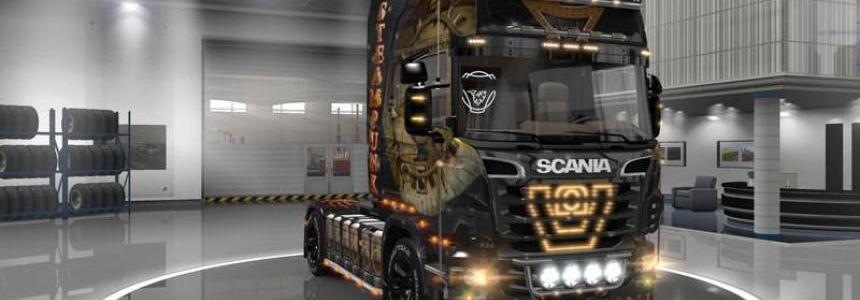 Scania R steampunk skin v1.0