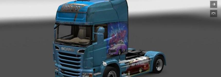 Scania Truck Wartburg v1.0