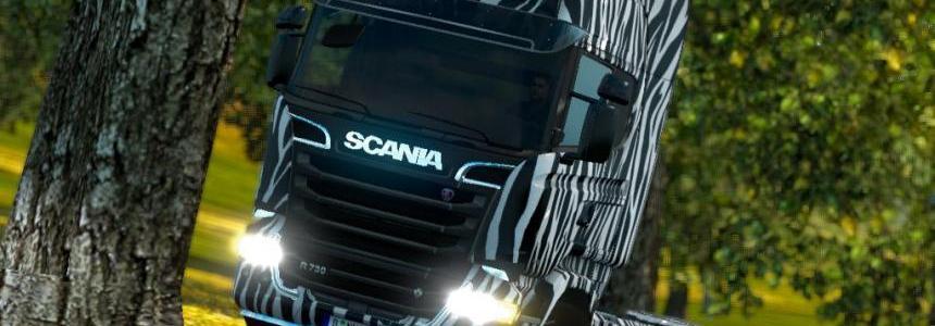 Scania Zebra Skin 1.19x