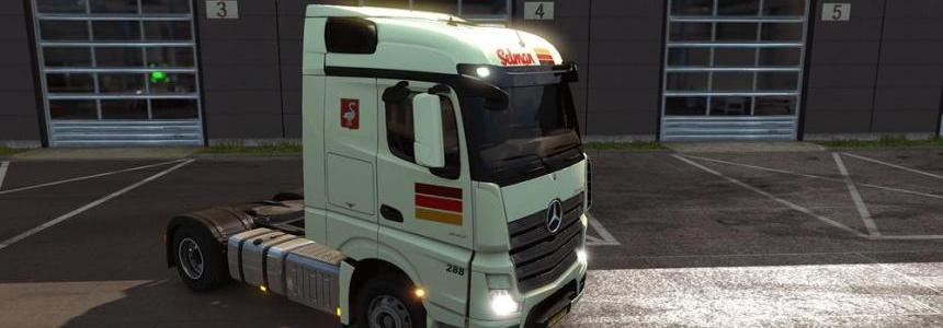 Selman Transporten Mercedes Actros MPIV skin
