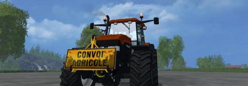 Signs convoy agricultural v1.0