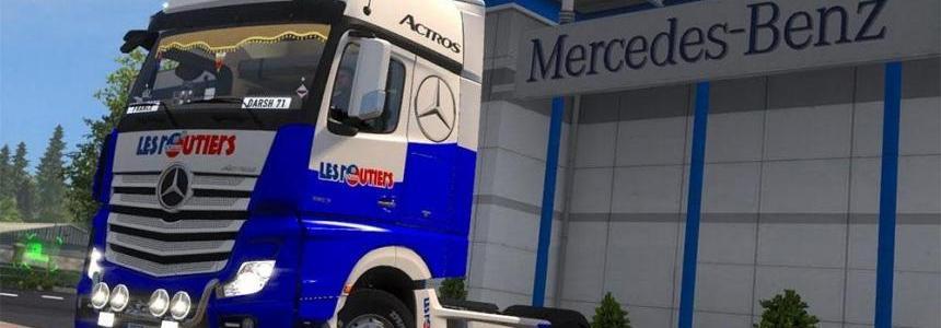 Skin Mercedes Actros MPIV Les Routiers sont sympa SCS model