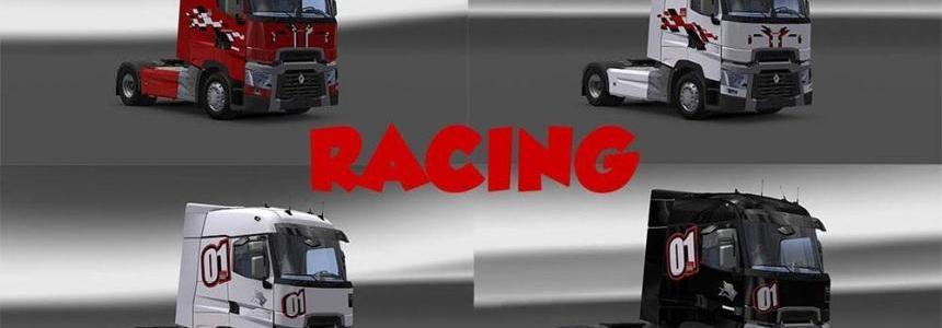 Skin Pack Renault Range T Racing