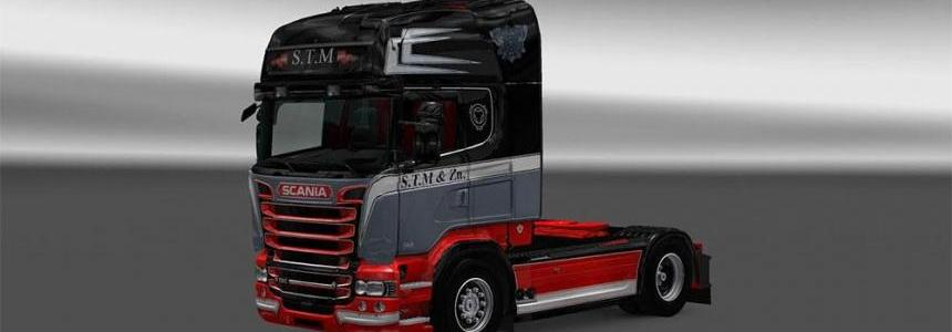 Skin Scania RS S.T.M