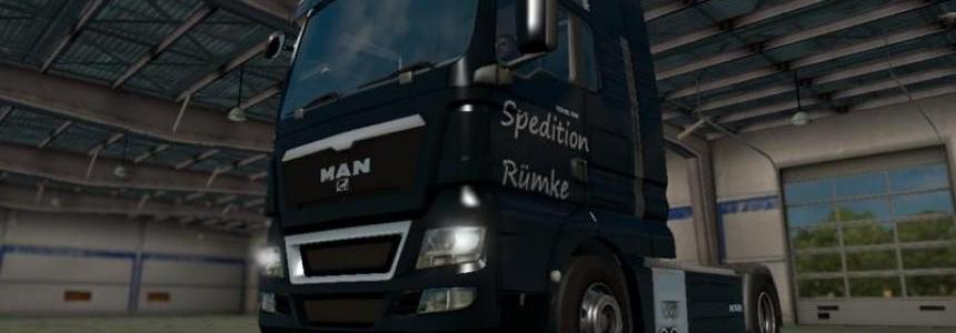 Spedition Rumke MAN TGX v1.0