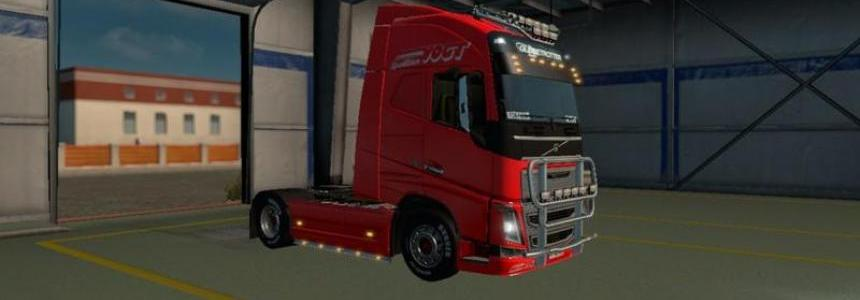 Spediton Vogt for the Volvo FH16 2012 v1.0
