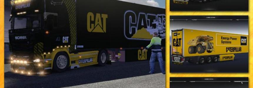 Trailer Pack Lamberet Caterpıllar Pack v1