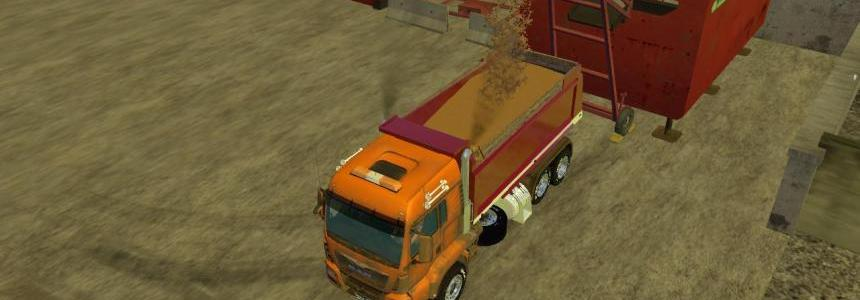 Truck for the map mining construction economy V2