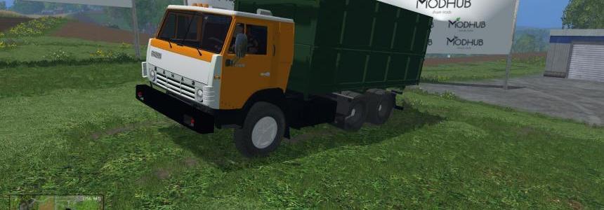 Truck Kamaz 55102 v1