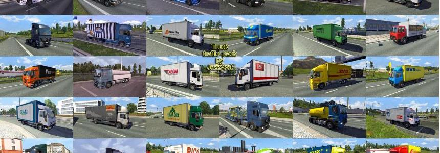Truck Traffic Pack by Jazzycat  v1.9