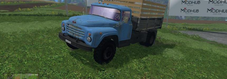 Truck ZIL-130 silos v1.0