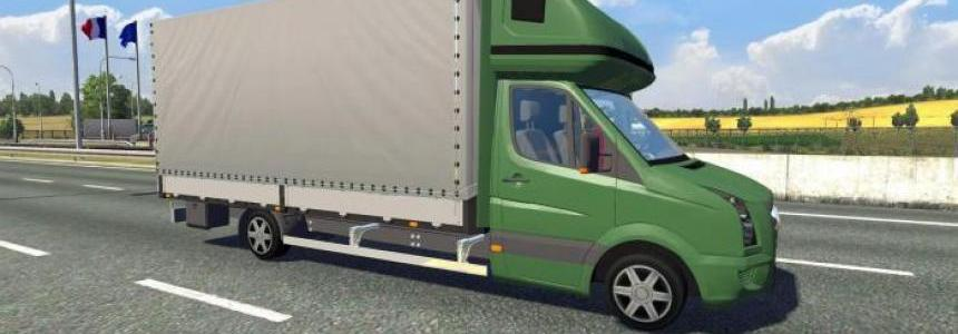 Volkswagen Crafter to Traffic
