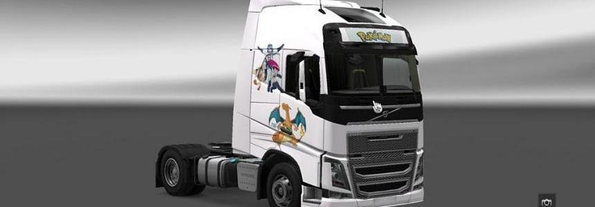 Volvo FH 2012 Pokemon Skin