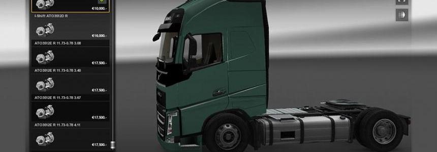 Volvo FH 2013 Gearboxes v1.1