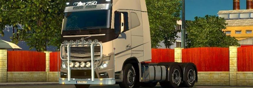 Volvo Hybrid Truck for Multiplayer