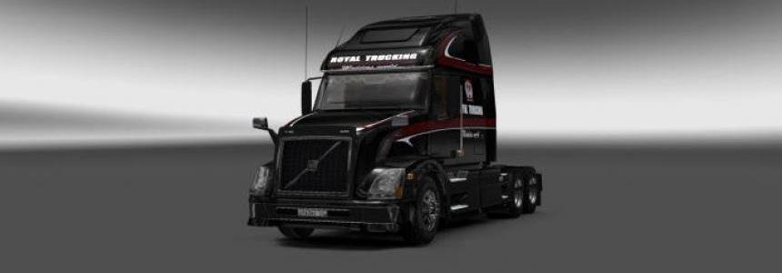 Volvo VNL670 Royal Trucking Skin