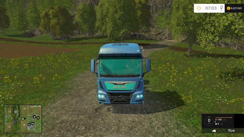 MAN E-TGS electric trucks v1.0 Electrotronic